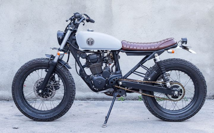 """WOW! From Bali, Indonesia, Honda Tiger 200 #BratStyle """"MM8"""" by MalaMadre Motorcycles #motos #motorcycles 