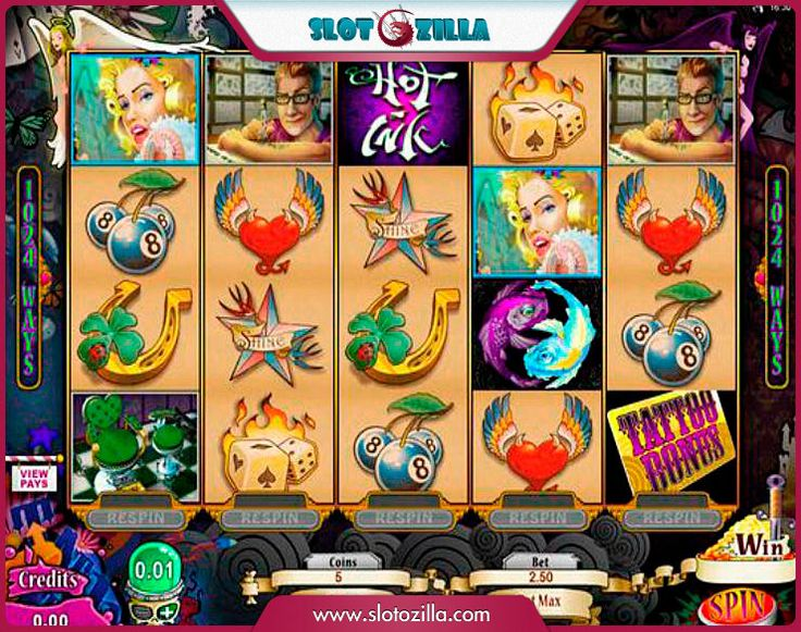 Hot Ink free #slot_machine #game presented by www.Slotozilla.com - World's biggest source of #free_slots where you can play slots for fun, free of charge, instantly online (no download or registration required) . So, spin some reels at Slotozilla! Hot Ink slots direct link: http://www.slotozilla.com/free-slots/hot-ink