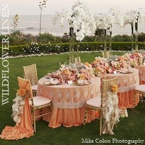Best Table Linens Images On Pinterest Tablecloths Marriage - Wedding table linens