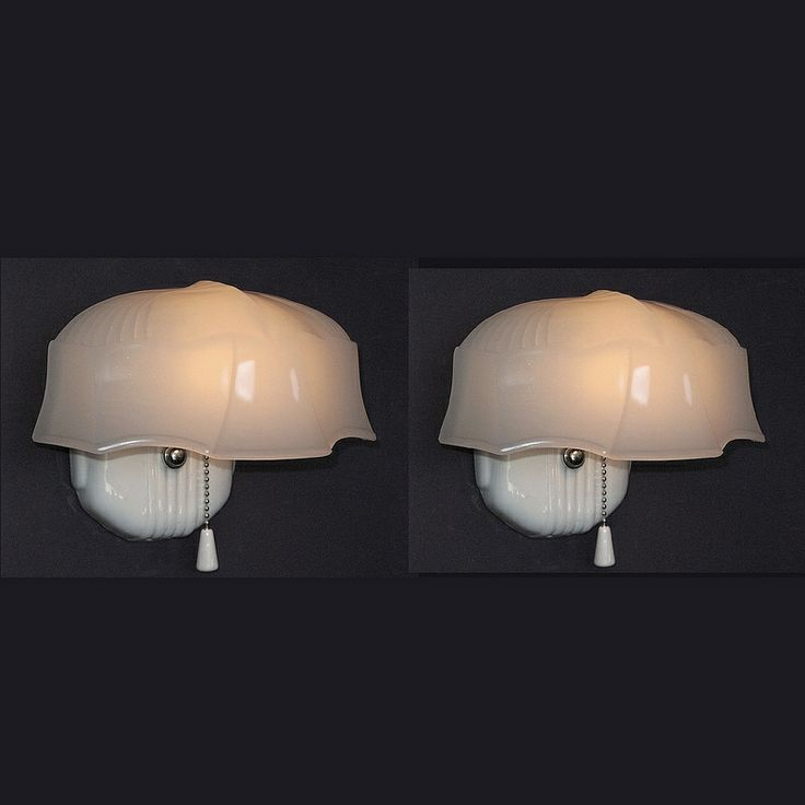 Find This Pin And More On Vintage Bathroom Light Fixtures