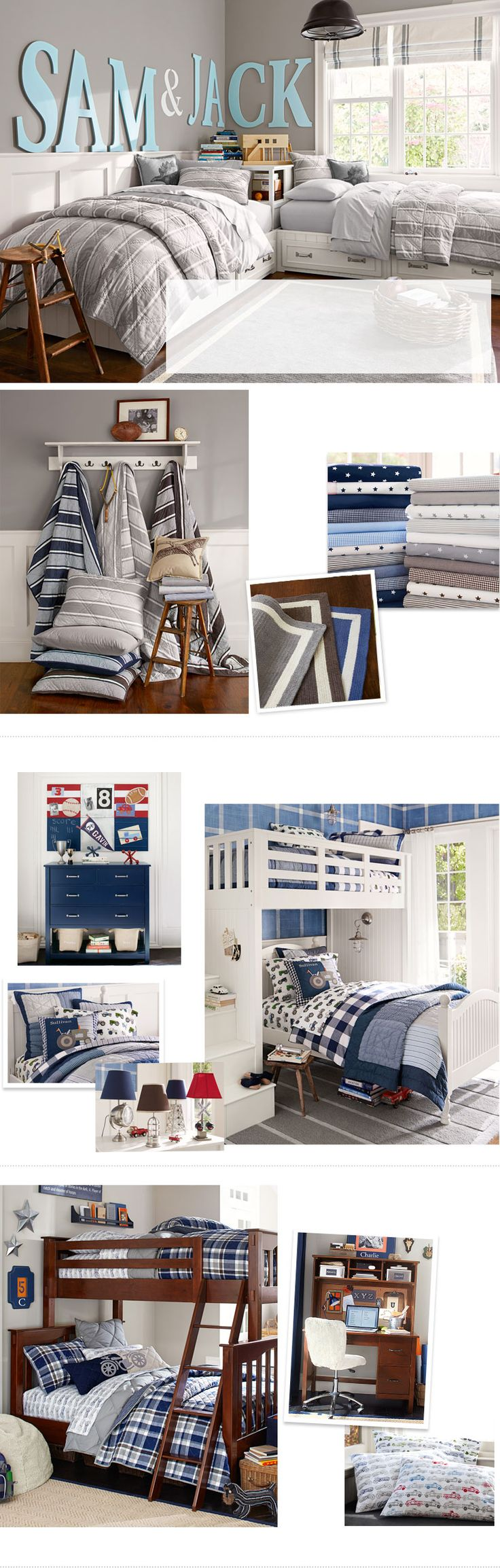 Frugal tips for organizing kids rooms thrifty nw mom fresh bedrooms - Boys Room Ideas Boys Room Decorating Ideas Pottery Barn Kids Bed Set
