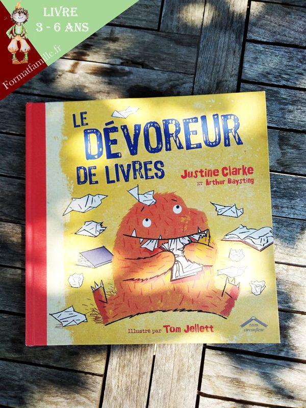 Le Devoreur De Livres Livres 5 6 Ans Livre Album