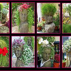 Head Planters By Container Gardening With KatG