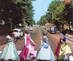 princess abby road :)