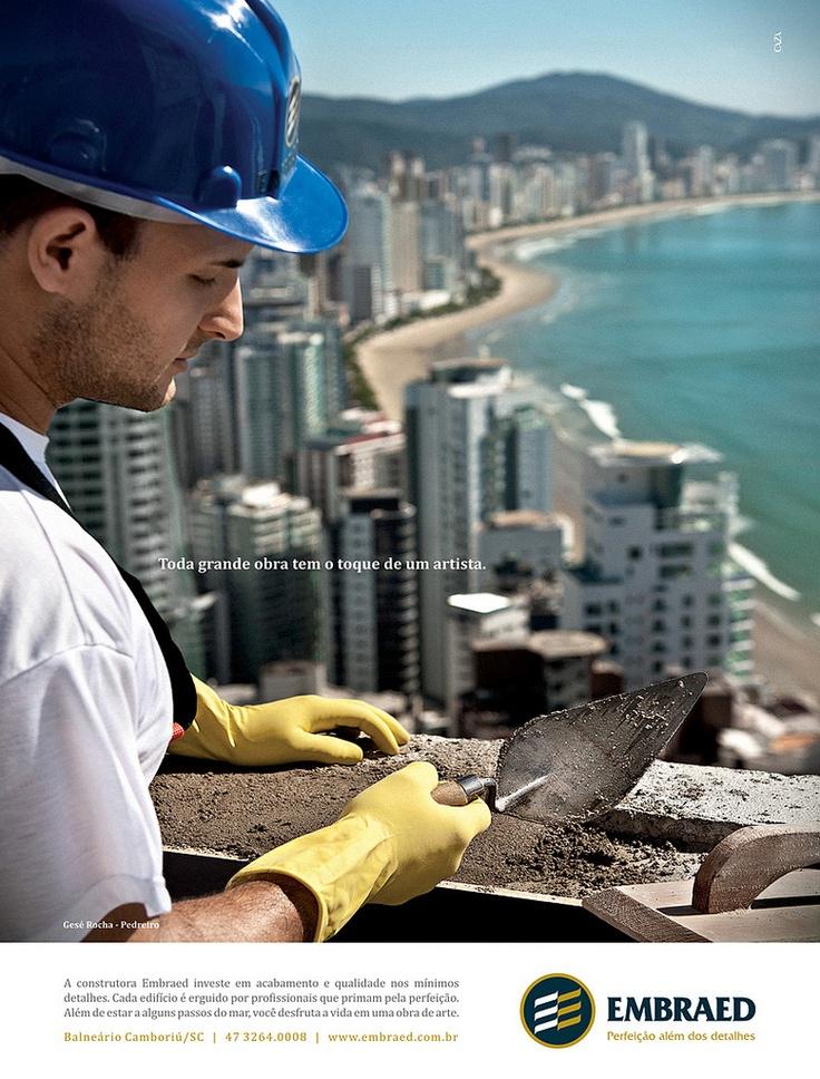 Anúncio Institucional para Construtora Embraed