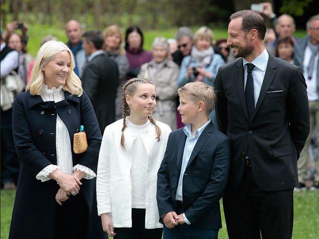 Inauguration du parc Princesse Ingrid Alexandra, Oslo