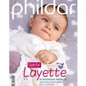 N° 115 PHILDAR layette 2014-2015