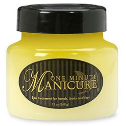 @Overstock - Treat yourself right with a One Minute Manicure  Spa treatment is ideal for hands, body and feet  One Minute Manicure is packed with Dead Sea Salts, essential oils, Vitamin E and morehttp://www.overstock.com/Health-Beauty/One-Minute-Manicure-13-oz-Spa-Treatment/3275169/product.html?CID=214117 $19.49