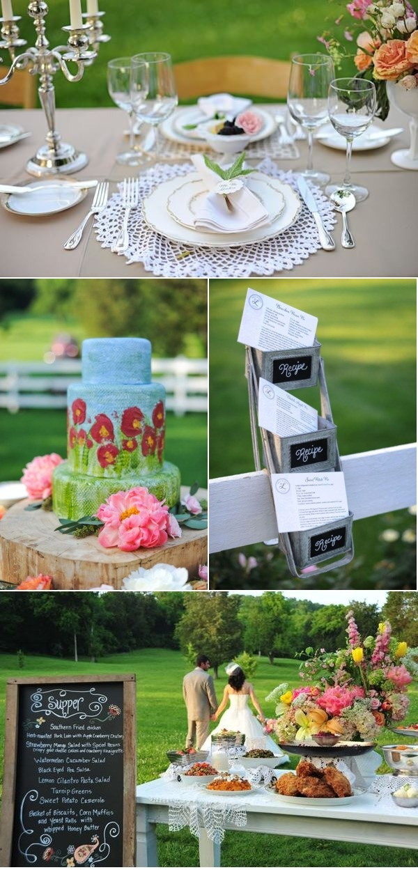 beautiful wedding- especially that cake!