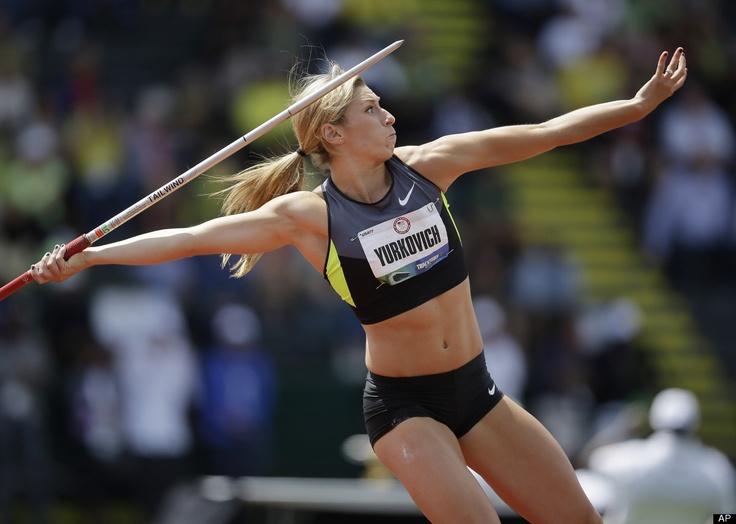 Rachel Yurkovich  From: United States   Field: Women's Javelin Throw   Age: 25   Twitter: @RachY1022