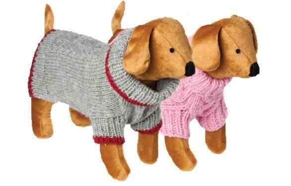 PSY | Oblečenie pre psov | Sveter Hand Knit Cable šedý | www.beethoven.sk chovateľské potreby