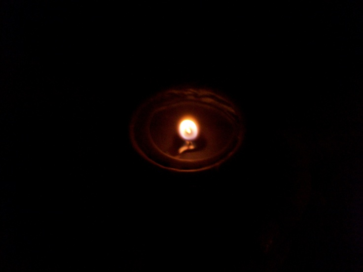 Day 15 - Due to the timing vs that of the original project, this is not a wave of light but rather a solitary flicker. Still, a candle lit for my missing ones.