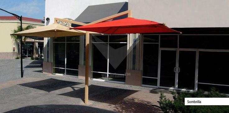 Siempre sombra fresca - Velarium. #sol #proteccion #comercial #estructuras #shadeports