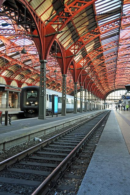 Central Station, Copenhagen, Denmark ..walking distance to the all the shops in the center of town ..its a short trip across to Malmo, Sweden