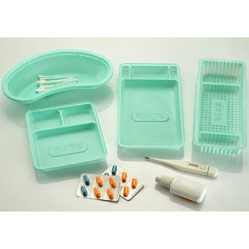 Some Plastic Medical Products like Plastic Plates, test tubes etc used to make the work easy and clean.