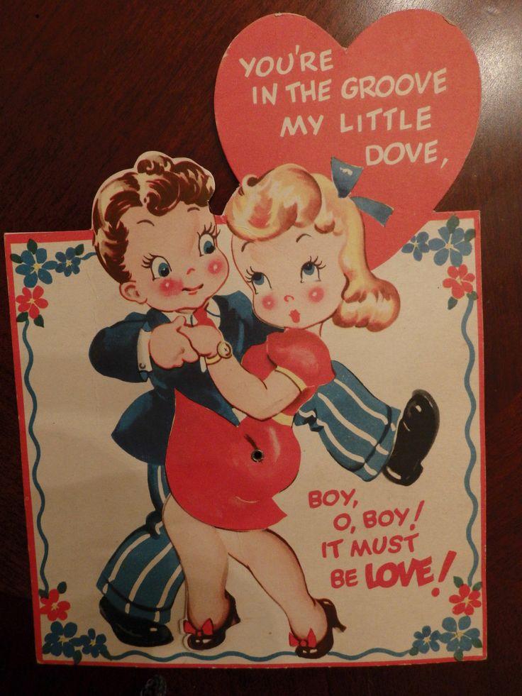 716 best vintage valentine images on Pinterest  Vintage