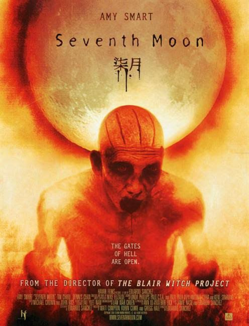 7 Ay - Seventh Moon - 2008 - BRRip Film Afis Movie Poster