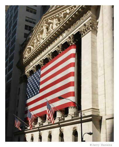 NYSE: The New York Stock Exchange  Photo by Jerry Hankins