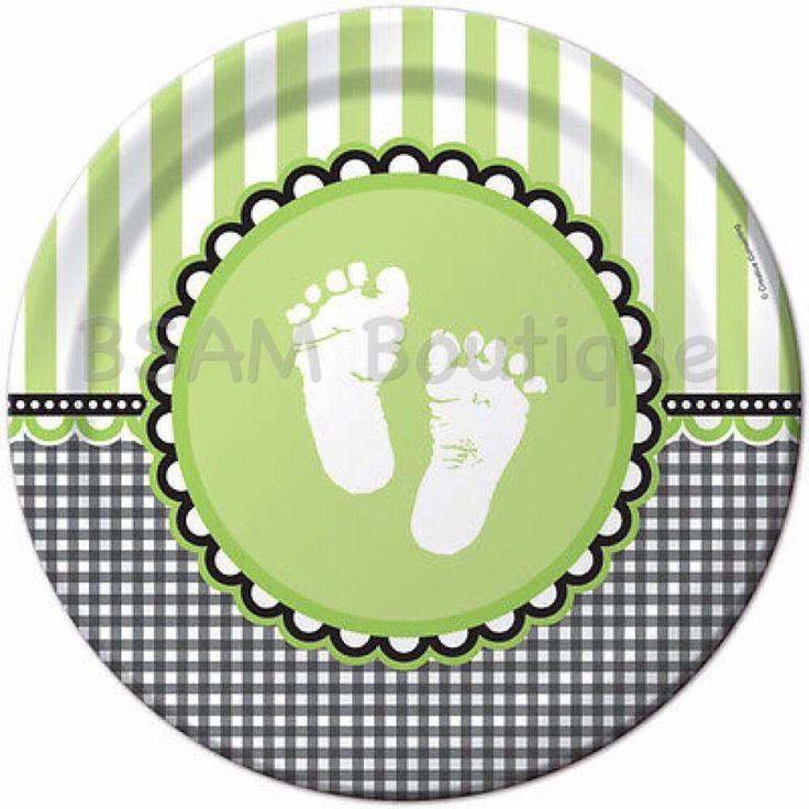 Sweet Baby Feet Large Plate
