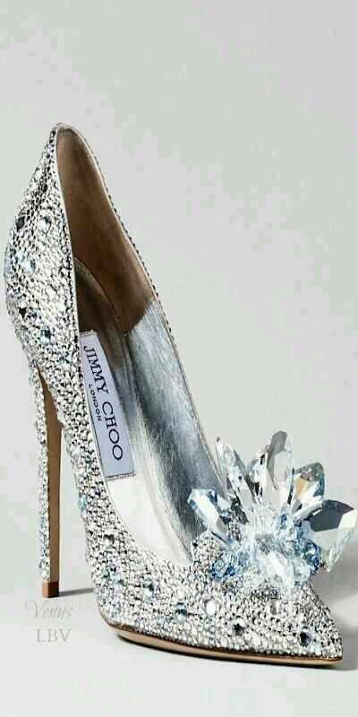 Today's version of Cinderella's glass slipper!!!
