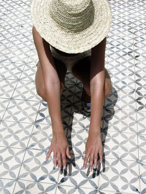   Slow down this Summer   Appreciate small things & always wear a straw hat  