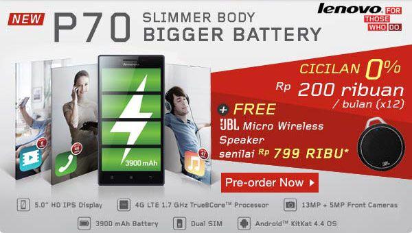 Resmi Hadir di Indonesia, Lenovo P70 Berbekal Baterai Berkapasitas Besar - Ubertekno.com – Lenovo barusan menyuguhkan perangkat andalan teranyarnya di indonesia. Kesempatan ini Lenovo menyuguhkan smartphone Android kelas menengah teranyar yang bernama Lenovo P70. Di mana sekarang ini pre order Lenovo P70 secara on-line telah di buka lewat beberapa toko o... - http://wp.me/p5AJ1j-1wl