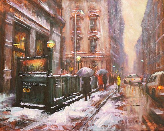 Winter Prelude in Prince Street