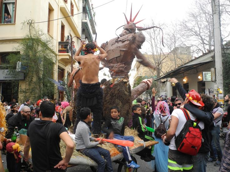 Athens in carnival mood | http://gbtimes.com/