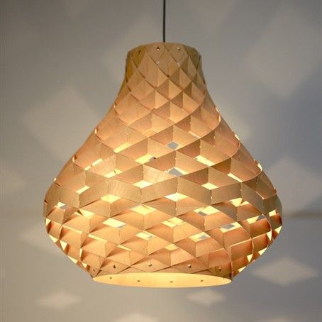 Weave Pendant Lamps   Design By Edward Linacre Bamboo