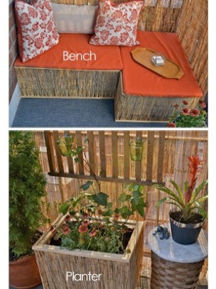 124 best diy balcony patio garden images on pinterest furniture diy balcony bench and planter solutioingenieria Gallery