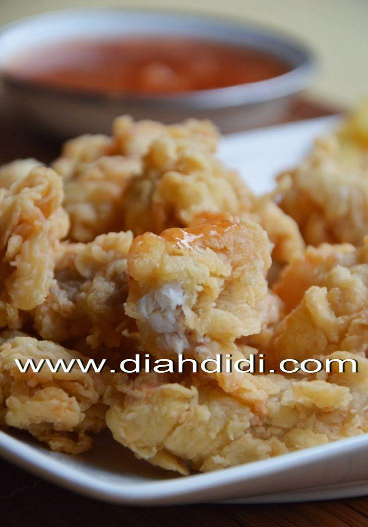 Diah Didi's Kitchen: Steak Kakap Krispi Saus Praktis
