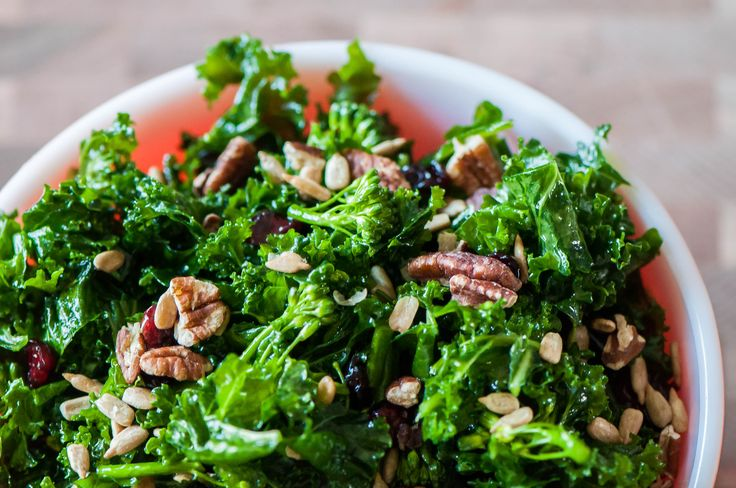 This Copycat Chick-fil-A Superfoods Salad is filled with kale, dried cranberries, nuts and a delicious maple vinaigrette. Healthy and tasty!