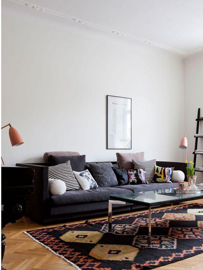 Magnifique espace! #salon #deco #texture