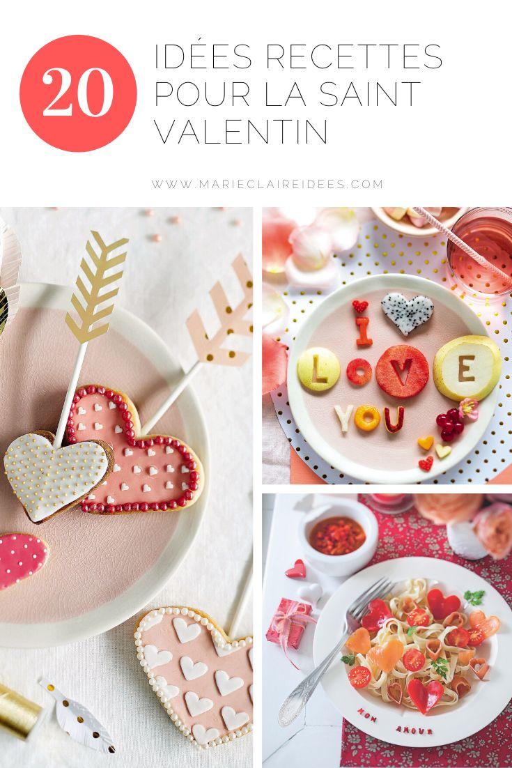 Saint-Valentin : des recettes créatives pour un repas en amoureux en 2020   Repas en amoureux ...