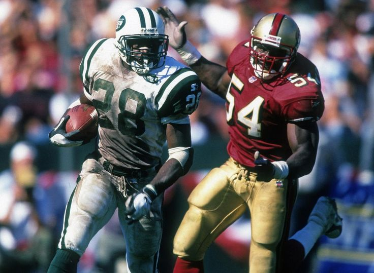 Curtis Martin, New York Jets   Repinned by @keilonegordon