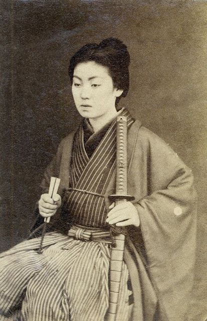 Onna-bugeisha – female Japanese warrior