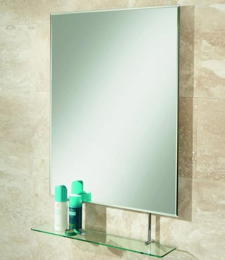 Awesome Octagon Bathroom Mirror With Shelves  Image 1