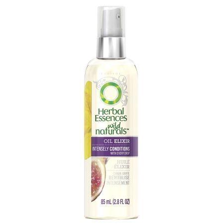 Herbal Essences Wild Naturals Rejuvenating Oil Elixir Turkish Fig - 2.8 oz.