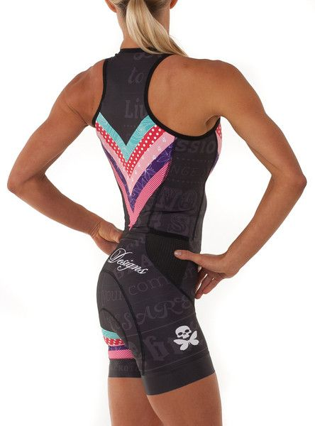 World Champion Trisuit by Betty Designs