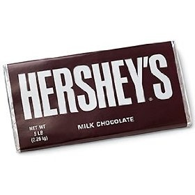 The 5 lb Hershey's bar is perfect for giant s'mores. #wacky #Amazon