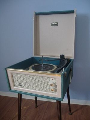 The Dansette Barracuda was the record player I had as a child - a design classic