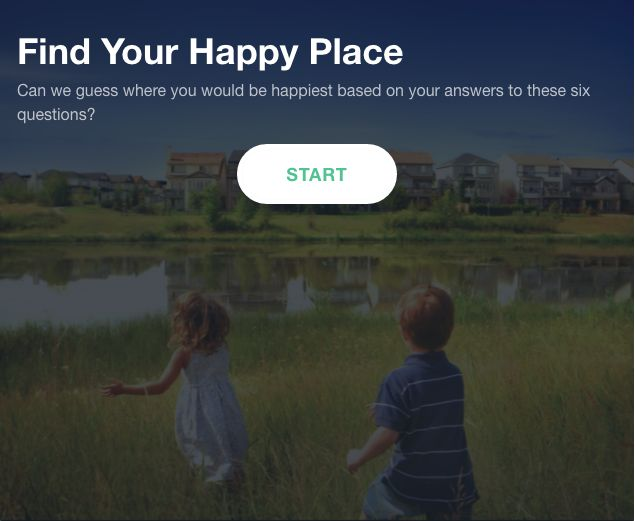 Answer these 6 questions to find out where you would be happiest! Check that against where your city ranks in HomeAdvisor's Homeowner Happiness Index