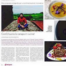 Chef Giorgio Trovato - La Canapa nella cucina gourmet _ Vie del Gusto
