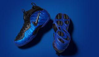 THE SNEAKER ADDICT: Nike Air Foamposite Pro Hyper Cobolt Sneaker (Deta...
