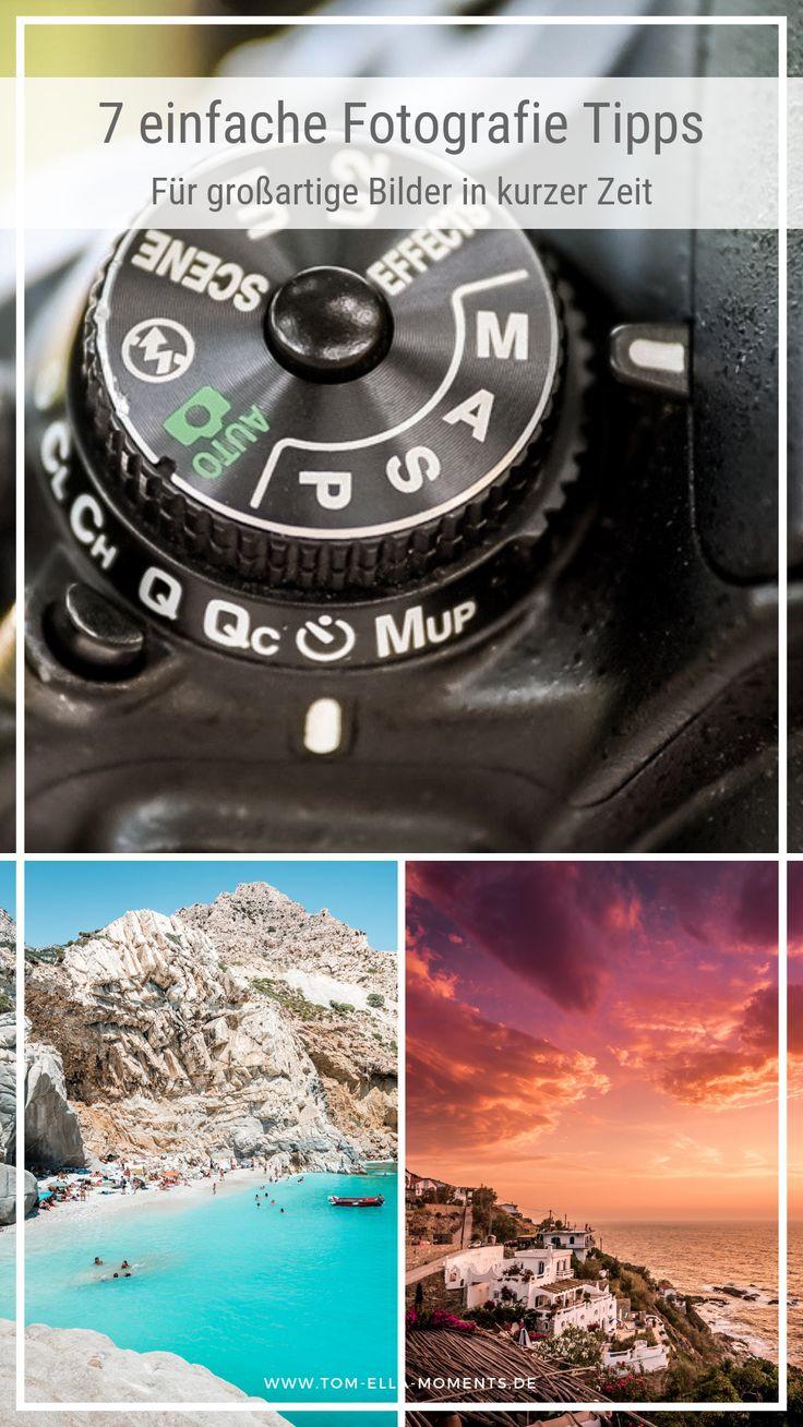 Fotografie Tipps: Unsere 7 Tipps für bessere Fotos. Deine Bilder bekommen nicht… – TOM & ELLA ☀ Griechenland Reiseblog