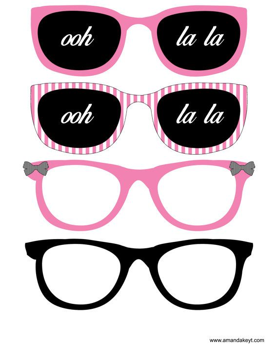Printable Birthday Photo Booth Props ~ Best ballerina party images on pinterest