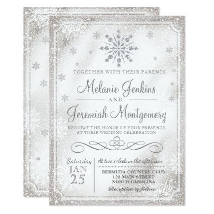 Best 25+ Winter wedding invitations ideas only on Pinterest ...