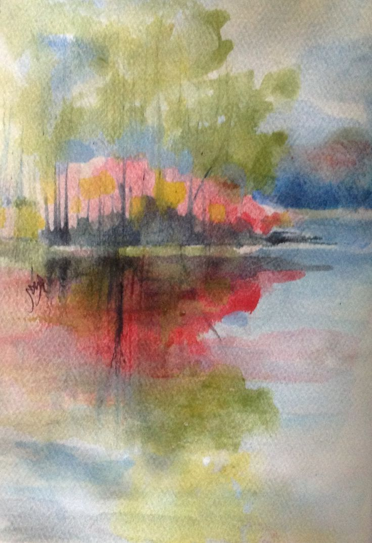 Loose Watercolor Landscapes 2648 Best Kathleen S Watercolor