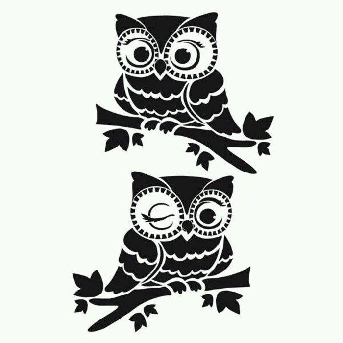 Best 25 owl stencil ideas on pinterest for Spooky owl pumpkin stencil