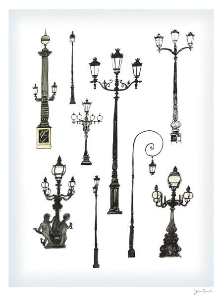 Jason Brooks Store — Paris Streetlamps